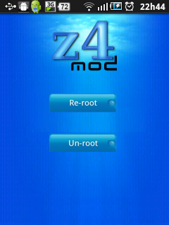 Acesso root desenvolvimento android for Terr root word