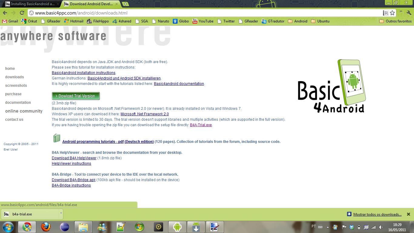 Basic4Android | Desenvolvimento Android e ERP Totvs RM